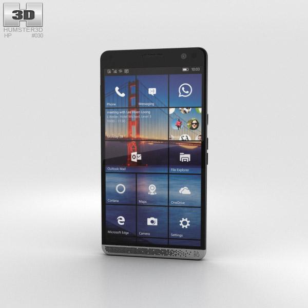 HP Elite x3 Black 3D model