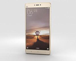 3D model of Xiaomi Mi 4s Gold