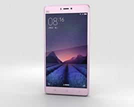 3D model of Xiaomi Mi 4s Pink