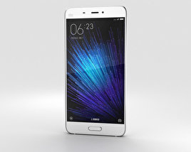3D model of Xiaomi Mi 5 White