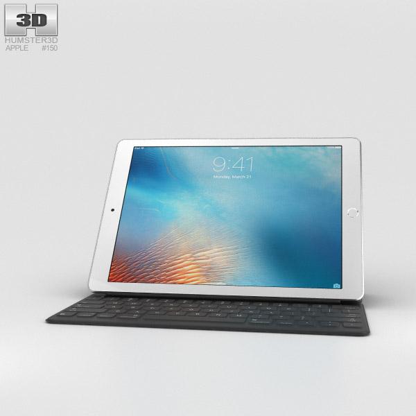 Apple iPad Pro 9.7-inch Silver 3D model