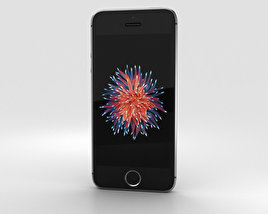 3D model of Apple iPhone SE Space Gray