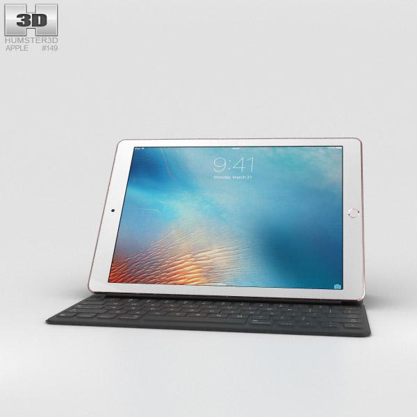 Apple iPad Pro 9.7-inch Rose Gold 3D model