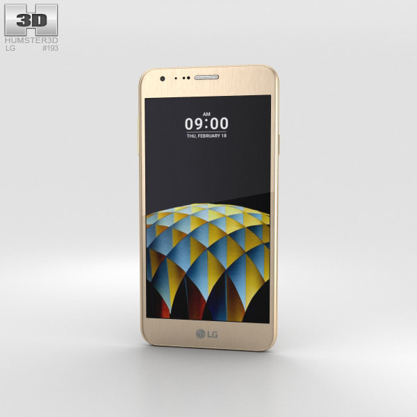 LG X Cam Gold 3D model