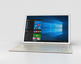 3D model of Huawei MateBook Golden