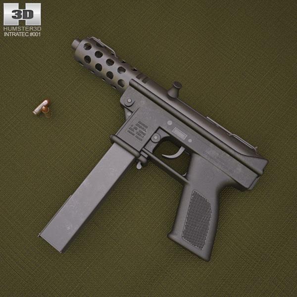 Intratec TEC-9 Modello 3D