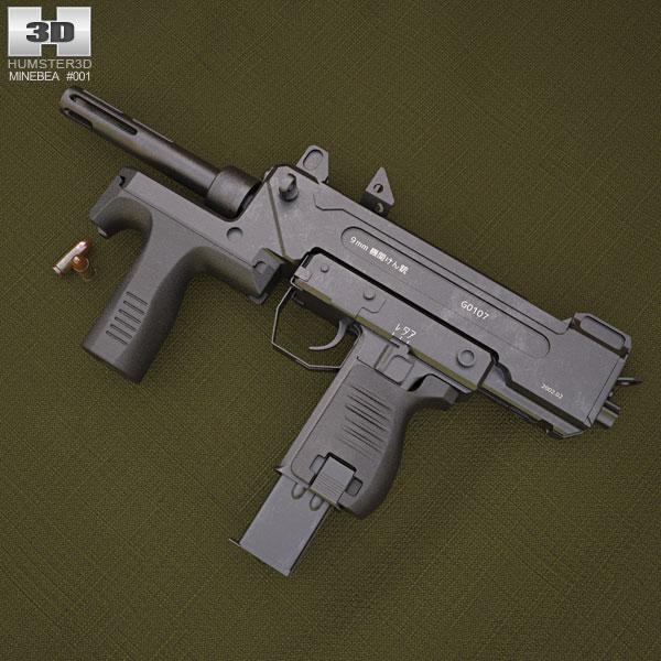 Minebea PM-9 3D model
