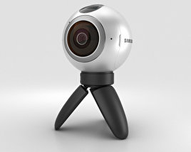 3D model of Samsung Gear 360 Camera