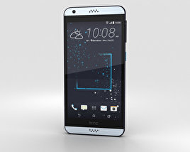 HTC Desire 530 Blue Splash 3D model