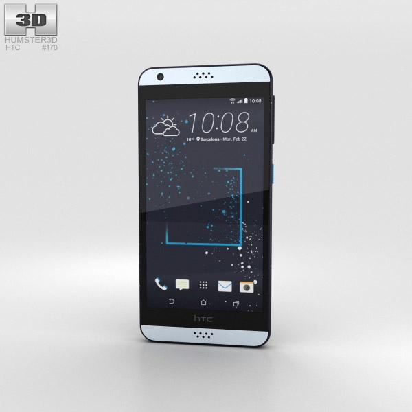 HTC Desire 530 Blue Splash 3D model