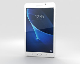 3D model of Samsung Galaxy Tab A 7.0 Pearl White