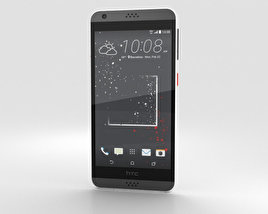 3D model of HTC Desire 530 White Splash