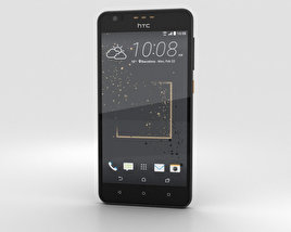3D model of HTC Desire 825 Gray Splash