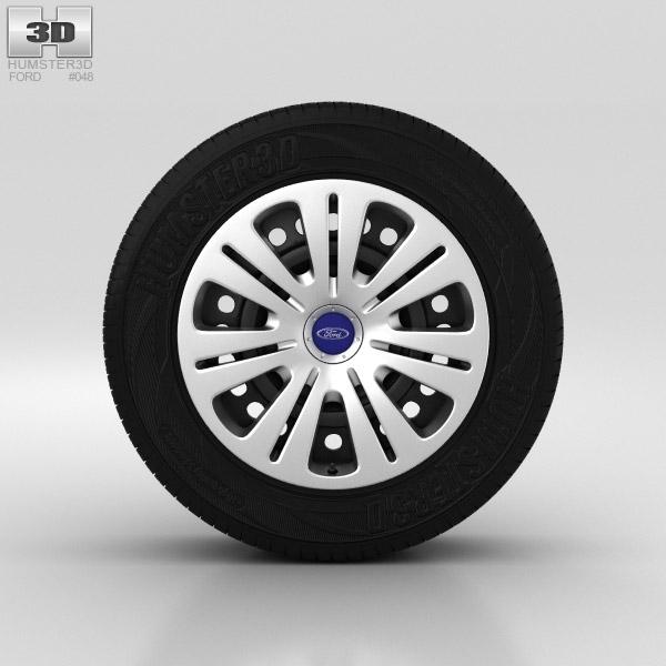 Ford Galaxy Wheel 16 inch 001 3D model