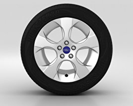 3D model of Ford Galaxy Wheel 16 inch 002