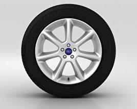 Ford Grand C Max Wheel 18 inch 001 3D model