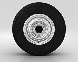 3D model of Ford Ranger Wheel 16 inch 001