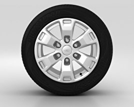 3D model of Ford Ranger Wheel 16 inch 002