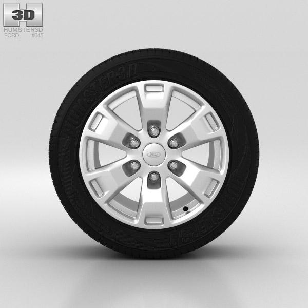 Ford Ranger Wheel 16 inch 002 3D model