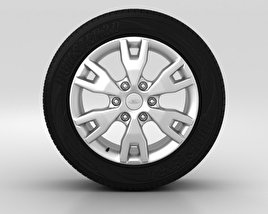 3D model of Ford Ranger Wheel 18 inch 001