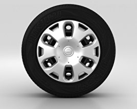 3D model of Ford Tourneo Connect Wheel 15 inch 001