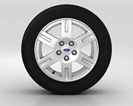 3D model of Ford Tourneo Connect Wheel 16 inch 001