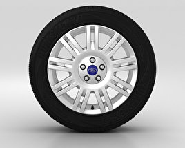3D model of Ford Tourneo Connect Wheel 17 inch 001