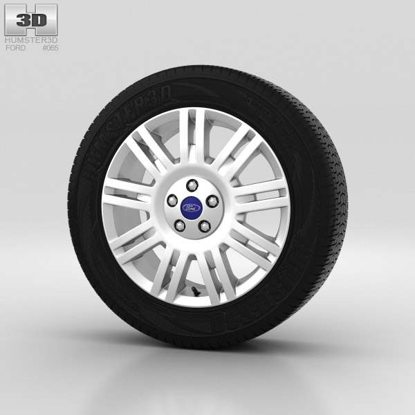 Ford Tourneo Connect Wheel 17 inch 001 3d model