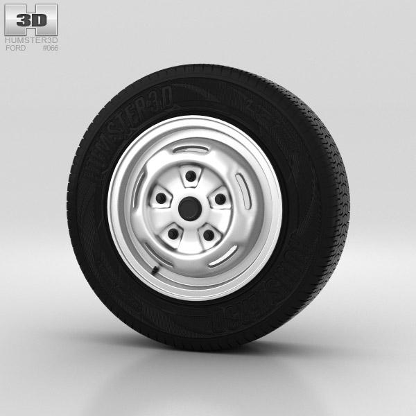 Ford Transit Wheel 15 inch 001 3d model