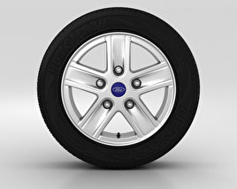 Ford Transit Wheel 16 inch 001 3D model