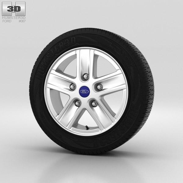 Ford Transit Wheel 16 inch 001 3d model