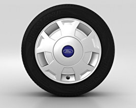 3D model of Ford Transit Wheel 16 inch 002