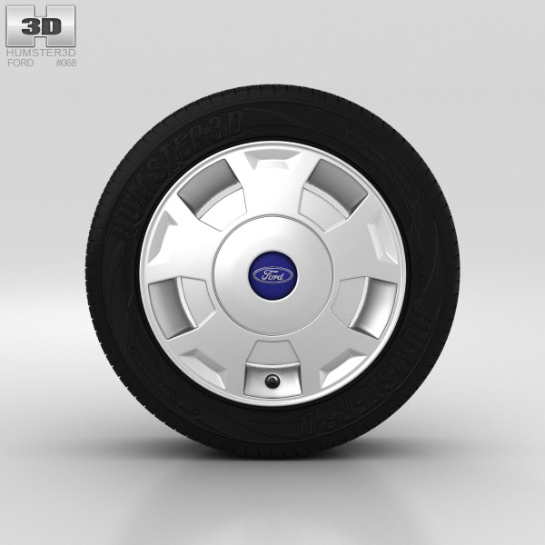 Ford Transit Wheel 16 inch 002 3D model