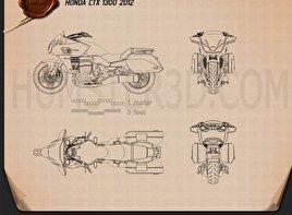 Honda CTX1300 2012 Blueprint