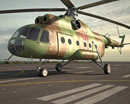 3D model of Mil Mi-8
