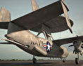 Northrop Grumman E-2 Hawkeye 3d model