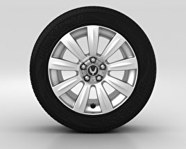 3D model of Hyundai Equus Wheel 18 inch 001