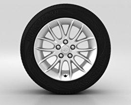 Hyundai Genesis Wheel 17 inch 001 3D model