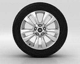 Hyundai Santa Fe Wheel 18 inch 001 3D model