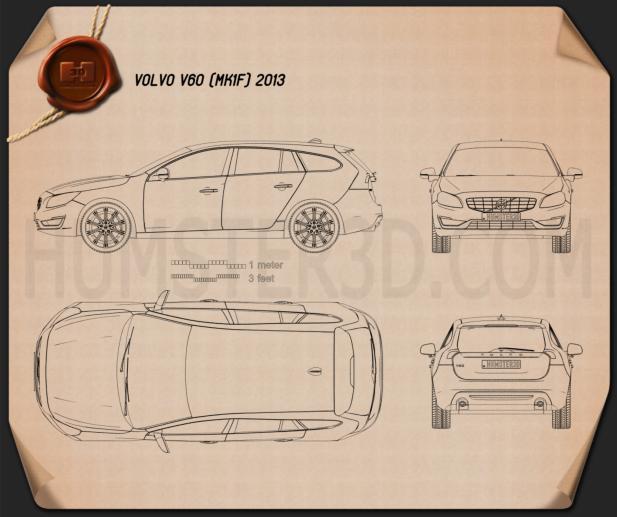 Volvo V60 2013 Planta