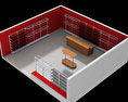 Clothing store Free 3D model