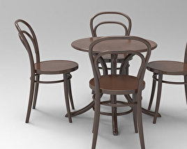 Table and chairs 3