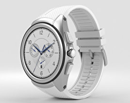 3D model of LG Watch Urbane 2nd Edition Luxe White