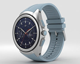 3D model of LG Watch Urbane 2nd Edition Opal Blue