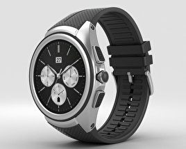 3D model of LG Watch Urbane 2nd Edition Space Black