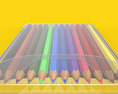 Colored pencils Free 3D model