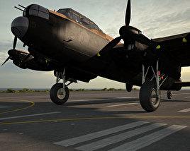 3D model of Avro Lancaster