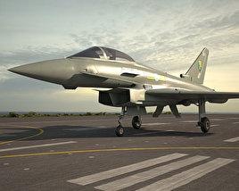 Eurofighter Typhoon 3D model