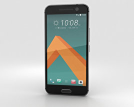 3D model of HTC 10 Carbon Gray
