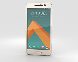3D model of HTC 10 Topaz Gold